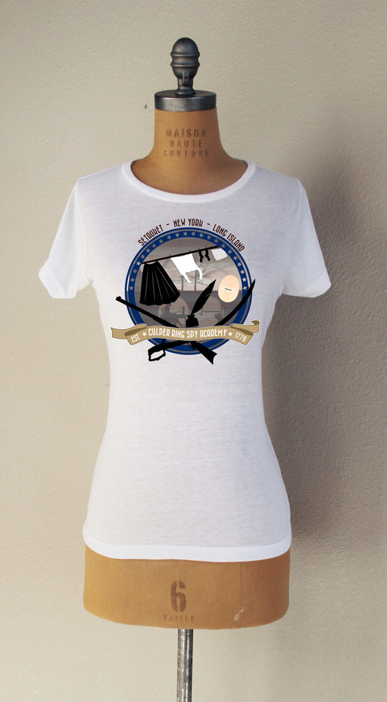 Culper Spy Academy  Short Sleeved T-Shirt