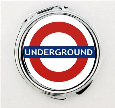 """Underground Sign"" Foldable Hand Mirror - Consulting Fangeeks - 1"