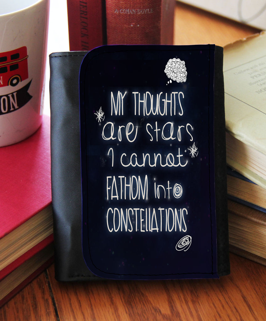 """My Thoughts Are Stars""  Wallet"