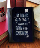"""My Thoughts Are Stars""  Wallet - Consulting Fangeeks - 1"