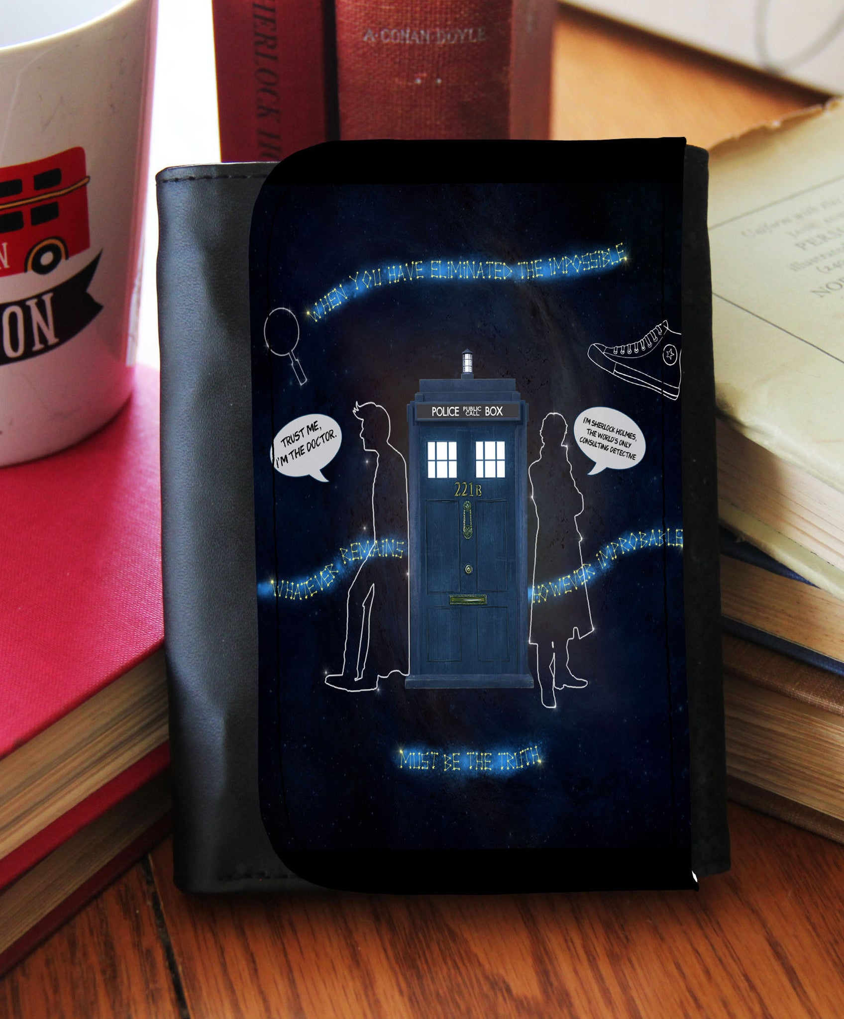 """Wholocked The Police Box"" Wallet - Consulting Fangeeks - 1"