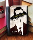 """Moriarty Is Real""  Wallet - Consulting Fangeeks - 1"