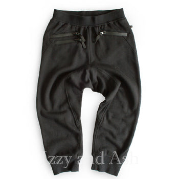 Appaman Boys Black Sweatpant|Boys Designer Sweatpants|Boys Activewear|Children Activewear|Kids Activewear