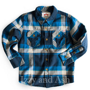Appaman Boys Teal Plaid Shirt|Appaman|Appaman Fall 2016|Appaman Clothing|Appaman Boys Clothes|Boys Blue Plaid Shirt