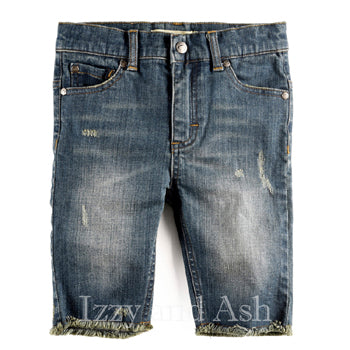 Appaman Boys Vintage Wash Cut Off Shorts|Boys Denim Shorts|Boys Cut Off Jean Shorts|Appaman