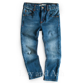 Appaman Boys Slim Leg Denim|Appaman|Appaman Fall 2016|Appaman Jeans|Designer Boys Jeans|Toddler Jeans