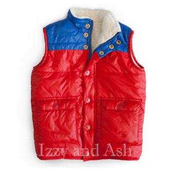 Egg Boys Bear Cole Top|Egg Fall 2017|Egg Children's Clothes|Egg Baby|Egg Fall 2017|Boys Puffer Vests|Boys Vests|Boys Outerwear|Toddler Boys Vests|Toddler Outerwear|Toddler Boys Outerwear|Children Vests|Boys Red Vest|Children Red Vest|Boys Winter Vest|Children Winter Clothes