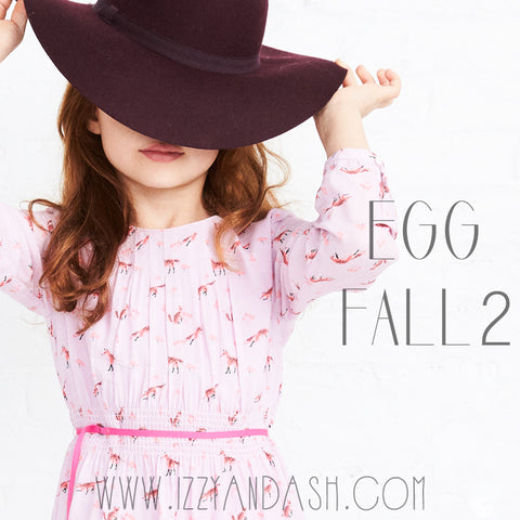 Egg by Susan Lazar|Egg|Egg Fall 2017|Designer Children's Clothing|Cute Children's Clothes|Girls Clothes|Boys Clothing|Toddler Boys Clothes|Tween Clothes|Toddler Fashion|Tween Style|Toddler Style|Girls Dresses