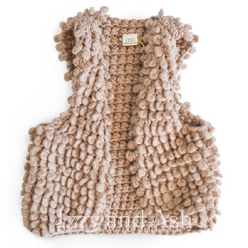 Egg Girls Bonnie Vest|Egg Baby|Girls Vests|Toddler Vests|Toddler Girls Vests|Fur Vest|Boucle Vest|Girls Outerwear|Children Vests|Kids Vests|Toddler Outerwear|Tween Vests|Tween Outerwear|Trendy Kids Vests|Cute Kids Vests|Boucle Vest|Children Boucle Vests