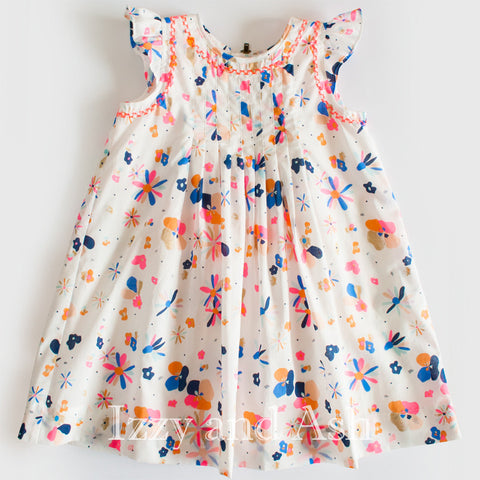 Egg Girls Floral Heidi Dress|Egg Spring 2017|Egg|Egg Children's Clothes|Girls Dresses|Tween Dresses|Toddler Girls Dresses|Girls Floral Dress|Tween Floral Dress|Baby Dresses|Baby Girls Dresses|Toddler Dresses|Girls Easter Dress