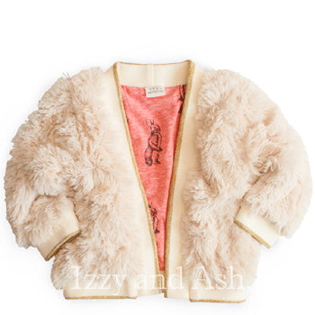 Egg Girls Julia Shaggy Jacket|Egg Baby|Egg Children's Clothes|Kids Outerwear|Children Outerwear|Girls Outerwear|Tween Outerwear|Tween Coats|Kids Coats|Girls Coats|Trendy Girls Jackets