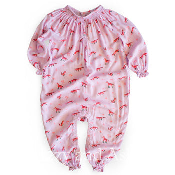 Egg Infant Girls Marzia Romper|Egg Fall 2017|Egg Baby|Baby Clothes|Unique Baby Clothing|Trendy Baby Clothes|Cute Baby Clothes|Cute Baby Girls Clothes|Pretty Baby Clothes|Newborn Baby Girls Clothes|Cute Newborn Clothes|Baby Layettes|Baby Rompers