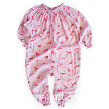 Egg Infant Girls Marzia Romper|Egg Fall 2017|Egg Baby|Egg Children's Clothes|Izzy and Ash|Unique Baby Clothes|Infant Clothes|Trendy Baby Clothes|Cute Baby Clothes|Layettes|Lavender Onesie|Lavender Layette|Lavender Playsuit|Girls Onesies|Baby Girls Onesies|Baby Girls Layette|Purple Onesie|Purple Layette|Fox Onesie|Fox Layette|Fox Romper|Fox Print|