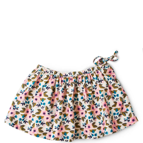 Egg Girls Floral Corduroy Skirt|Egg|Egg Baby|Egg Children's Clothes|Egg Kid's Clothes|Egg Girls Skirts