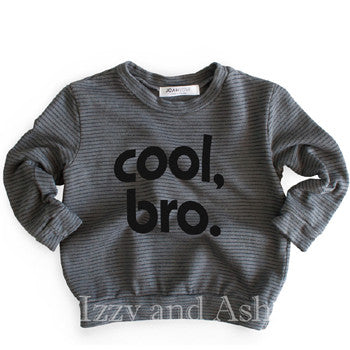 Cool Bro|Cool Bro Sweater|Joah Love|Joah Love Fall 2017|Joah Love Cool Bro|Cool Bro Shirt|Cool Bro T-Shirt|Boys Sweaters|Toddler Boys Sweaters|Boys Clothing|Boys Stripe Sweater|Boys Tops|Children Sweaters|Kids Sweaters|Fall Sweaters for Kids|Fall Sweaters for Children|Designer Children's Clothing