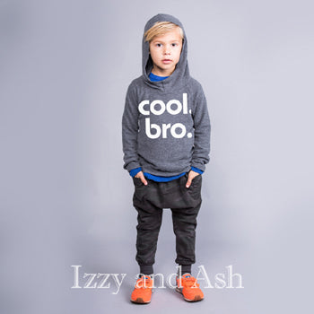 Joah Love Boys Cool Bro Hoodie|Cool Bro Hoodie|Cool Bro|Joah Love Fall 2016|Joah Love