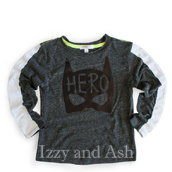 Joah Love|Joah Love Fall 2017|Joah Love Hero|Hero T-Shirt|Joah Love Clothing|Boys Clothes|Boys T-Shirts|Trendy Boys Shirts|Cute Boys Shirts|Mask Shirt