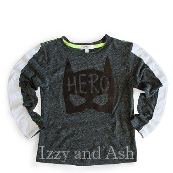 Joah Love|Joah Love Fall 2017|Joah Love Clothing|Joah Love Hero|Joah Love Hero Shirt|Hero T-Shirt|Hero Shirt|Boys' Hero Shirt|Superhero Shirt|Superhero T-Shirt|Boys T-Shirts|Graphic T-Shirts|Children T-Shirts|Kids Shirts|Toddler T-Shirts|Trendy Boys Shirts|Cute Boys Shirts