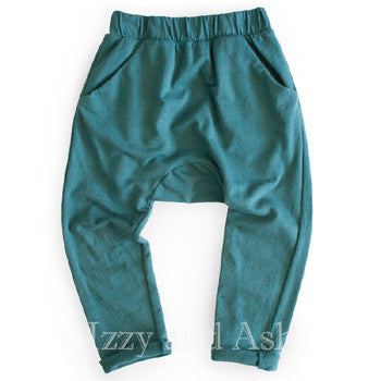Joah Love|Joah Love Fall 2017|Joah Love Clothing|Joah Love Clothes|Boys Pants|Boys Bottoms|Toddler Pants|Boys Sweatpants|Boys Activewear|Joah Love Rocco Pants|Boys Teal Pants|Toddler Teal Pants