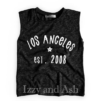 Joah Love|Joah Love Spring 2018|Joah Love Los Angeles Tank|Children Tanks|Kids Tank Tops|Los Angeles Tank Top|Los Angeles T-Shirt|LA Tank|LA T-Shirt|Cute Children Gym Clothes|Trendy Kids Clothes|Boys Clothing|Cute Boys Clothes