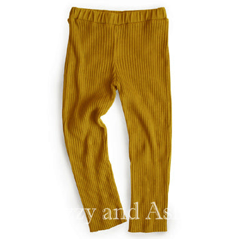Lali|Lali Fall 2018|Designer Children's Clothing Boutique|Mustard Leggings|Children's Leggings|Girls Leggings|Toddler Girls Leggings|Tween Leggings|Kids Leggings|Children Pants|Tween Pants|Toddler Leggings