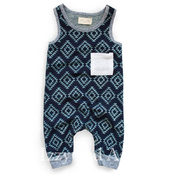 Miki Miette Fall 2018|Miki Miette|Miki Miette Infant Boys Yuma Playsuit|Baby Clothes|Miki Miette Clothing|Baby Boys Layette|Infant Boys Layettes|Baby Playsuits|Baby Onesies|Trendy Baby Clothes|Unique Baby Clothes|Cute Children's Clothes|Trendy Children's Clothes