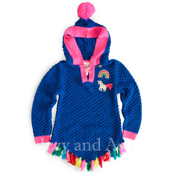 Mim Pi|Mim Pi Clothes|Mim Pi Clothing|Unicorn Sweater|Unicorn Hoodie|Trendy Girls Clothes|Cute Tween Clothes|Girls Fringe Sweater|Tween Fringe Sweater|Kids Fringe Sweater|Children Fringe Sweater