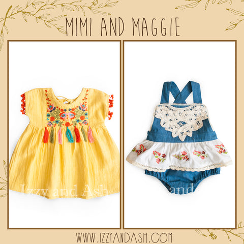 Mimi and Maggie Spring 2018|Mimi and Maggie Spring 2018 Preorders|Mimi and Maggie|Mimi and Maggie Clothing|Mimi and Maggie Baby Clothes|Cute Baby Girls Clothes|Cute Baby Girls Clothing|Baby Girls Dresses|Toddler Girls Dresses|Girls Layettes|Girls Onesies|Girls Dresses|Tween Dresses|Trendy Children's Clothes|Toddler Clothes|Cute Newborn Clothes|Newborn Clothing|Bohemian Children's Clothes