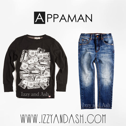 Appaman|Appaman Fall 2016|Appaman Cassettes Graphic Tee|Appaman Boys Slim Leg Denim|Appaman Boys Skinny Jeans