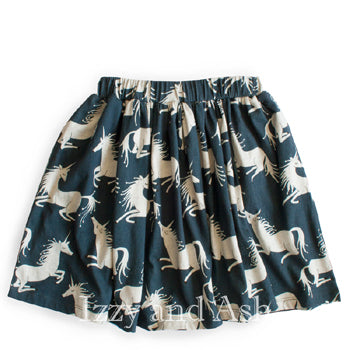 Paper Wings Fall 2018|Paper Wings|Unicorn Skirt|Little Wings Fall 2018|Little Wings|Designer Children's Clothing Boutique|Tween Skirts|Tween Unicorn Skirt|Toddler Girls Skirts|Toddler Fashion|Toddler Style|Children Fall Skirts|Trendy Kids Skirts|Fashionable Kids Skirts
