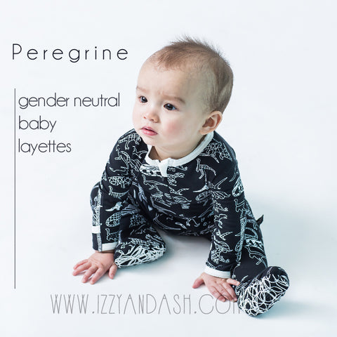 Peregrine|Peregrine Fall 2018|Gender Neutral Baby Clothing|Unisex Baby Clothes|Trendy Baby Clothes|Gender Neutral Newborn Clothes|Baby Layettes|Baby Boy Layette|Baby Girl Layette|Baby Pajamas