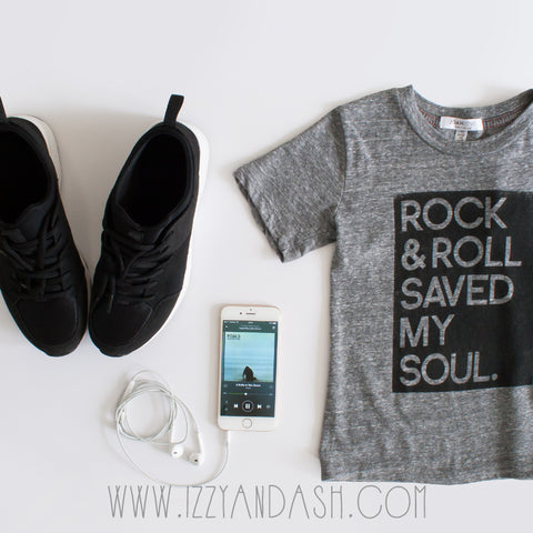 Joah Love | Joah Love Rock and Roll Saved My Soul T-Shirt | Joah Love Spring 2016