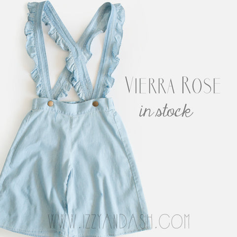 Vierra Rose Spring 2017|Vierra Rose|Girls Overalls|Toddler Overalls|Tween Overalls|Girls Shorts|Denim Overalls|Overall Shorts|Children Overalls|Trendy Children's Clothes