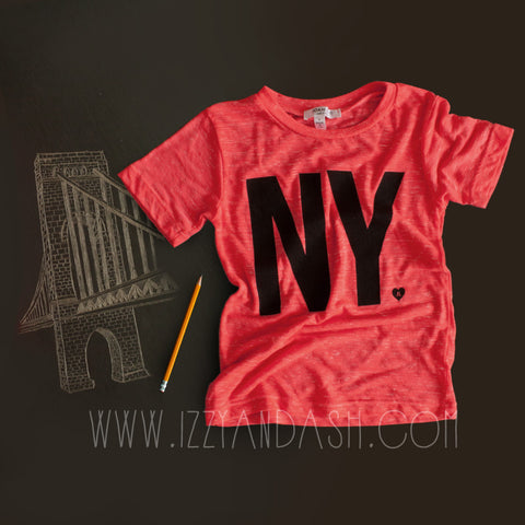 Joah Love|Joah Love Gender Neutral NY Shirt|Gender Neutral|Childrens Clothes