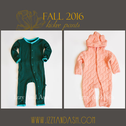 Kickee Pants|Kickee Pants Fall 1|Kickee Pants Fall 1 2016|Kickee Pants Fall 2016|Kickee Pants Quilted Romper|Kickee Pants Camping Fox Coverall