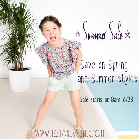 Izzy and Ash|Designer Children's Clothing|Joah Love Sale|Mimi and Maggie Sale