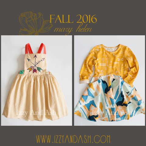 Mary Helen|Mary Helen Fall 2016|Mary Helen Girls Arrow Jumper Dress|Mary Helen Dress|