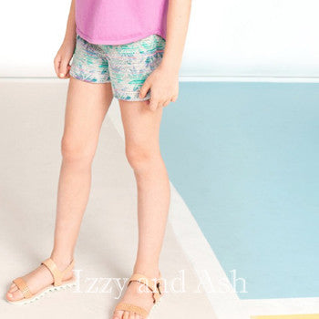 Stripe Shorts|Girls Stripe Shorts|Stripe Linen Shorts