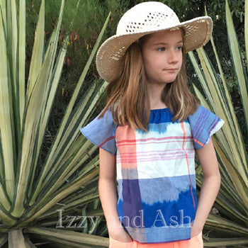 Anthem of the Ants|Girls Tartan Shirt|Tartan Shirt|Tween Blouses|Toddler Girls Blouses|Children Blouses