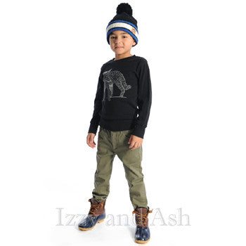Boys Glow In The Dark Shirt|Appaman Fall|Appaman Fox Shirt|Designer Children's Clothing Boutique|Toddler Boys
