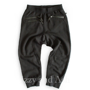 Appaman Boys Black Parker Sweatpants