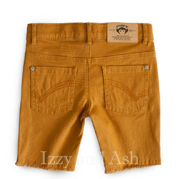 Appaman Spring 2016 | Appaman Boys Golden Cut Off Shorts| Appaman Boys Shorts