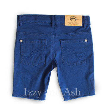 Boys Navy Shorts|Boys Cut Off Jeans|Punk Shorts|Boys Punk Shorts