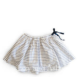 Egg Girls Stripe Skirt|Blue and White Skirt|Blue Stripe Skirt
