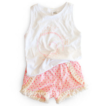 Egg Girls Sleeveless Feather Top|Egg Girls Tops|Egg Baby