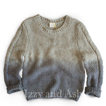 Egg Eli Sweater|Boys Ombre Sweater|Blue Ombre Sweater|Designer Boys Sweaters|Boys Fall Clothes