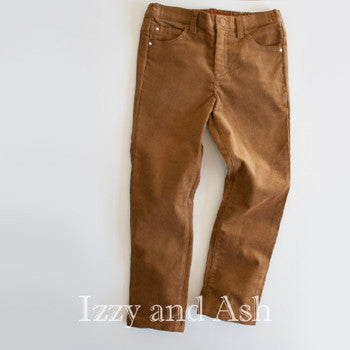 Egg Boys Camel Corduroy Pants