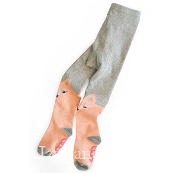 Egg Children's Clothing|Egg by Susan Lazar|Egg Baby|Egg Children's Clothes|Fox Tights|Baby Girls Clothing