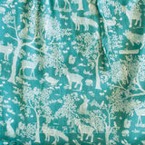 Fox Print Dress|Green Dresses|Tween Dresses|Tween Dress
