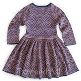 Long Sleeve Purple Dress|Designer Girls Purple Dress|Tween Purple Dress|Designer Girls Dresses
